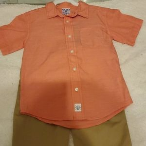 Boy's 2 pc Shirt and pants